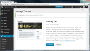 wordpress visit site