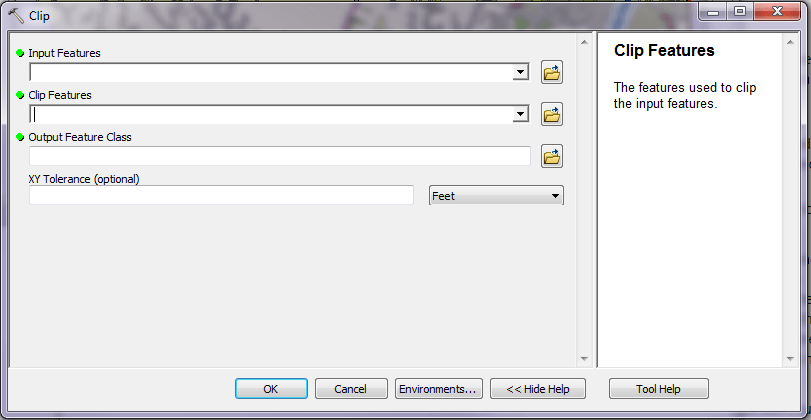 Figure 4 Show Help on Clip Features