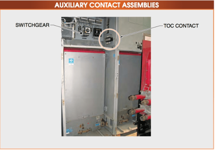 AUXILIARY CONTACT ASSEMBLIES
