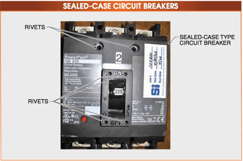 SEALED-CASE CIRCUIT BREAKERS