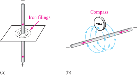 Visible Effects of a Magnetic Field