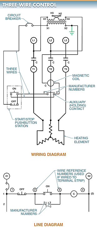 three-wire control