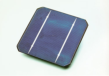 Shell Solar Industries crystalline silicon solar cell