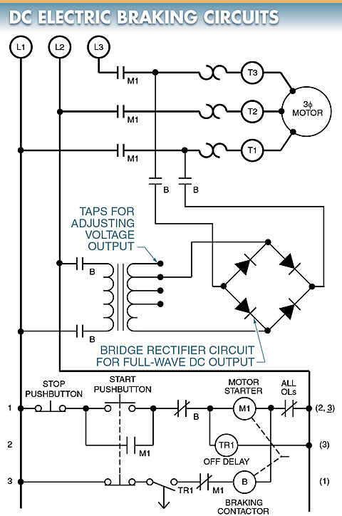 DC Electric braking circuit
