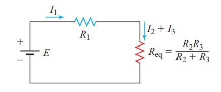 Equivalent circuit for Figure 1