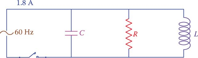 PARALLEL RLC Circuit for Example 2.
