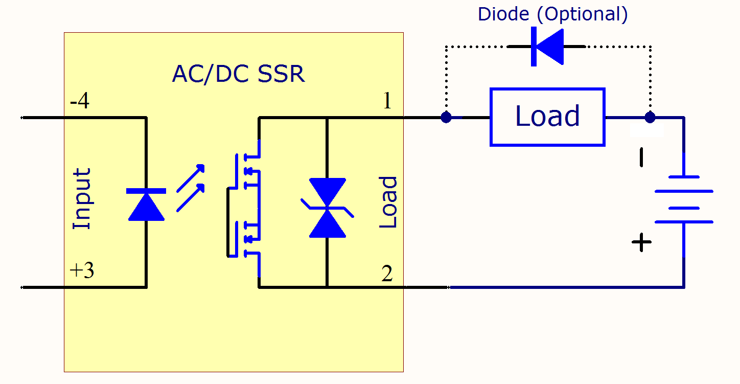 solid state relay circuit components electrical a2z. Black Bedroom Furniture Sets. Home Design Ideas