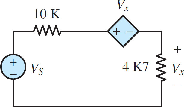 Electric Circuit with Four Elements