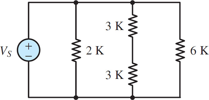 Electric Circuit with Five Elements