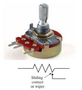 Potentiometers are used in electronic circuitry for fixed and variable resistance