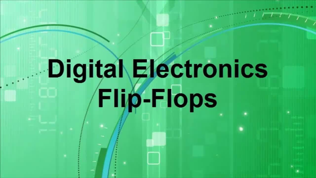 Digital Electronics Flip Flops | Types |Truth Table