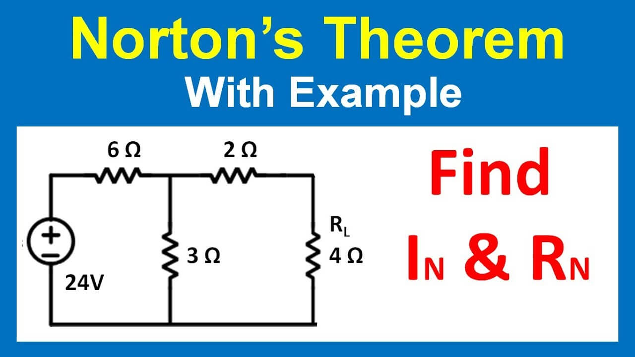 Norton's Theorem for DC Circuits