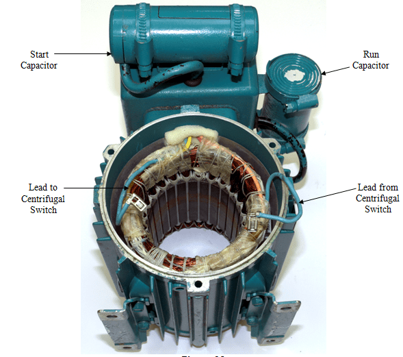 Fig.12 Capacitor Start and Capacitor Run Motor