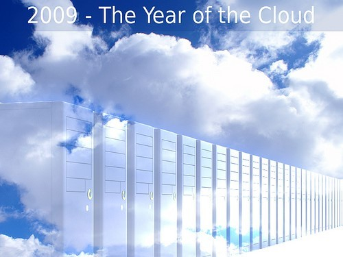 Figure 3 Conceptual Depiction of Cloud Computing