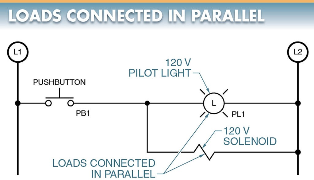 loads connected in parallel
