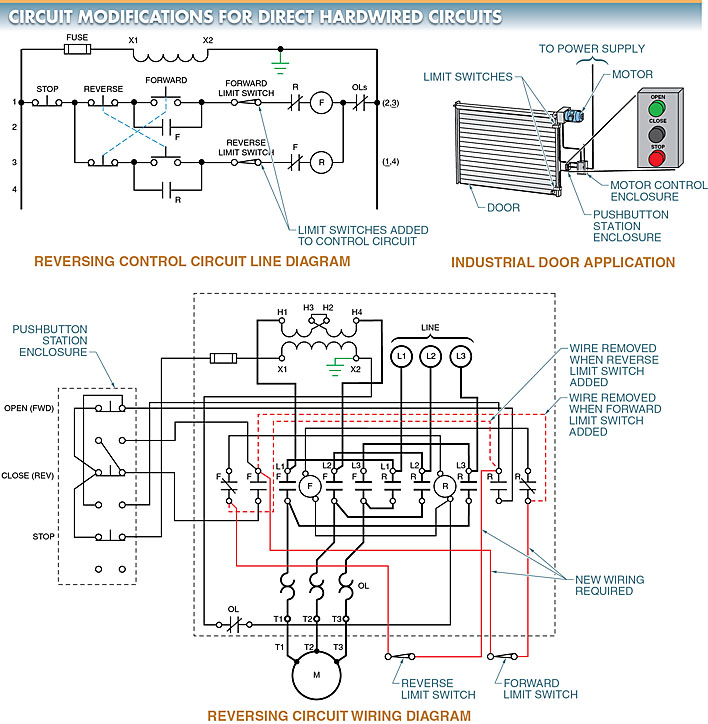 direct hardwired circuits modifications