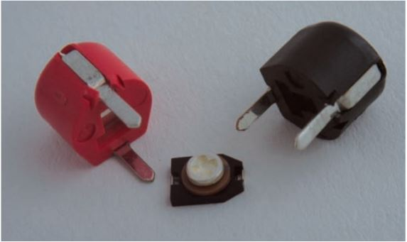 Types of trimmer capacitors