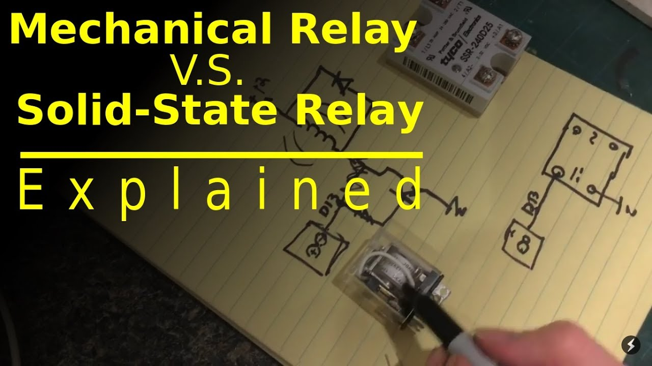 Solid State Relay Vs Electromechanical Electrical A2z Triac