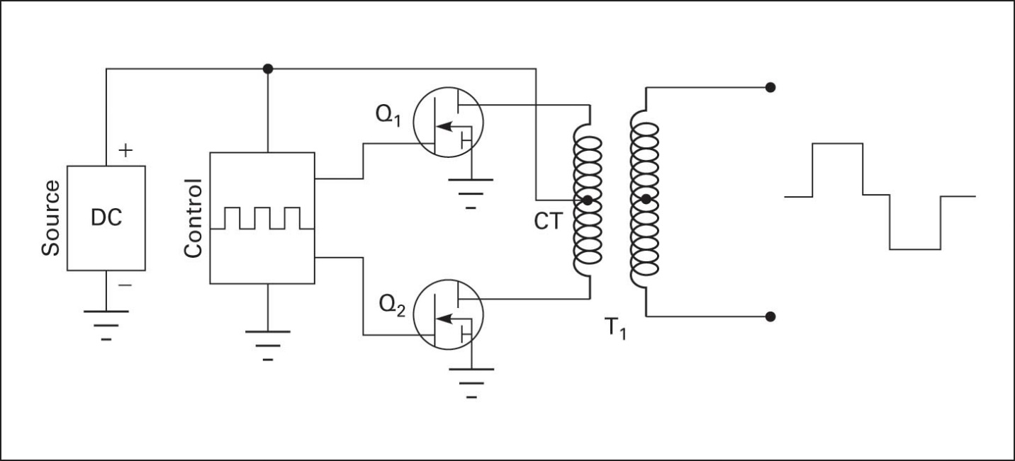 Circuit to generate a modified square wave