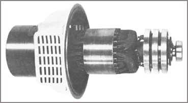 Typical wound rotor induction motor